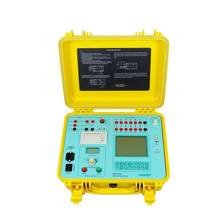 GKC433A Switchgear Analyzer