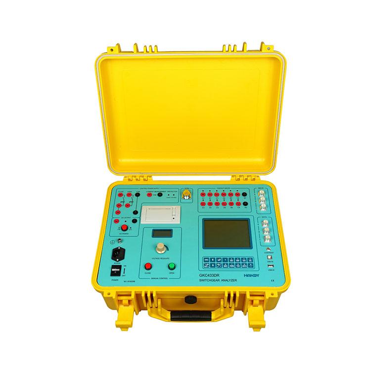 GKC433DR Switchgear Analyzer(Dynamic resistance test)