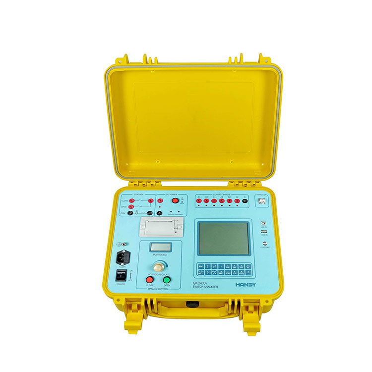 GKC433F Switchgear Analyzer