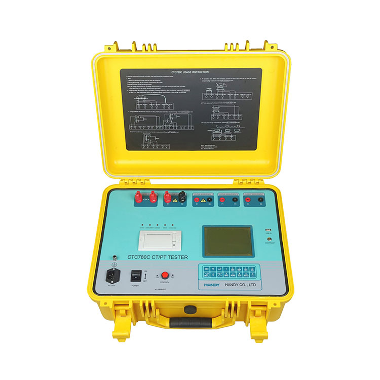 CTC780C CT/PT Analyzer (Variable frequency method)