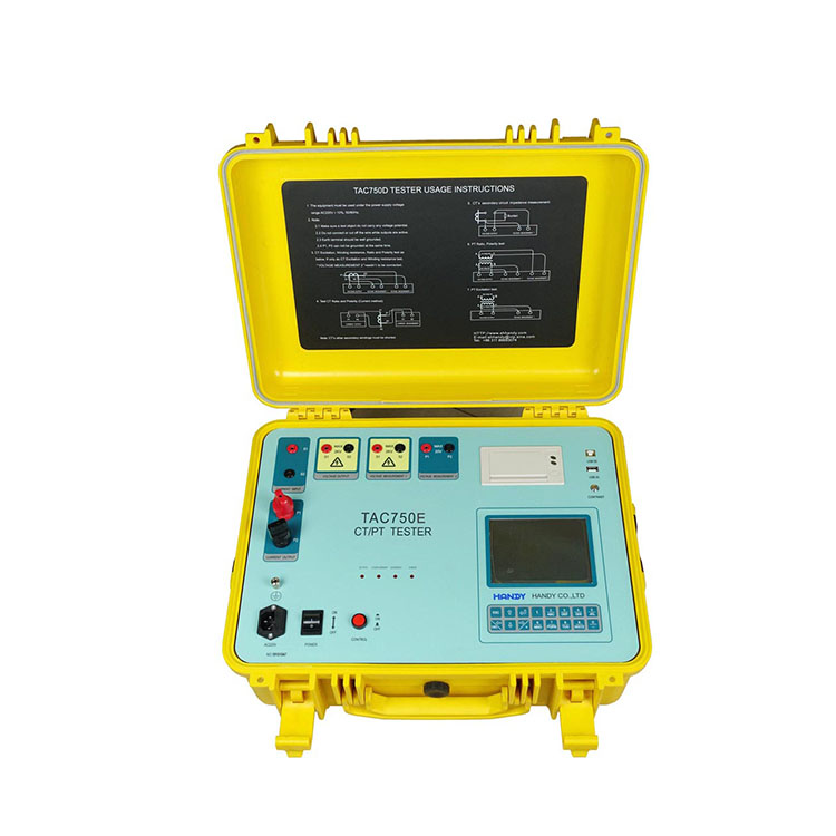 TAC750D CT/PT Tester (Power frequency method)
